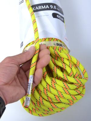 細径ロープの入門と言える9.8mm。
