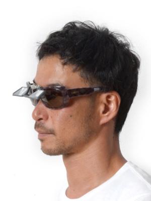 ほとんどの眼鏡、サングラスに装着可能