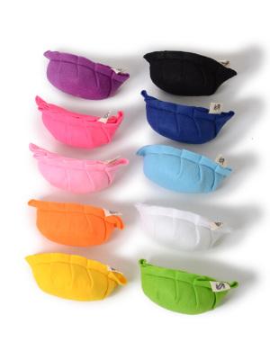 全10色!(左手前から、イエロー・オレンジ・パステルピンク・ピンク・パープル・グリーン・ホワイト・パステルブルー・ネイビーブルー・ブラック