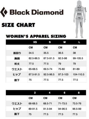 BDサイズチャート