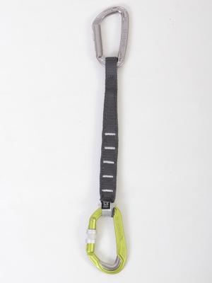 安全性の高い自作ドロー例(ピュアスライダー)+(ペツル/エクスプレス25cm)+(ブレットプルーフスクリュー)